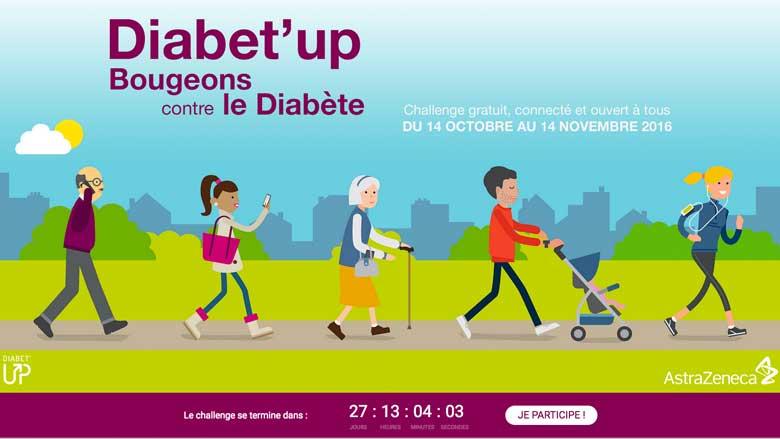 Bougez pour le diabète avec Diabet'up !