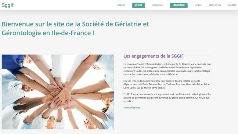Un site dédié à la gériatrie en Ile-de-France