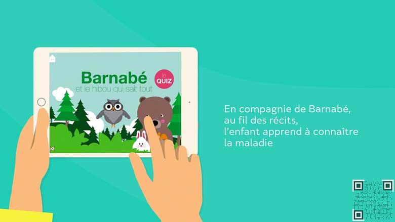 Une nouvelle application pour les enfants diabétiques de type 1 et leurs parents
