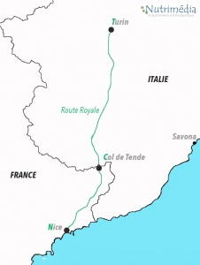 carte route royale