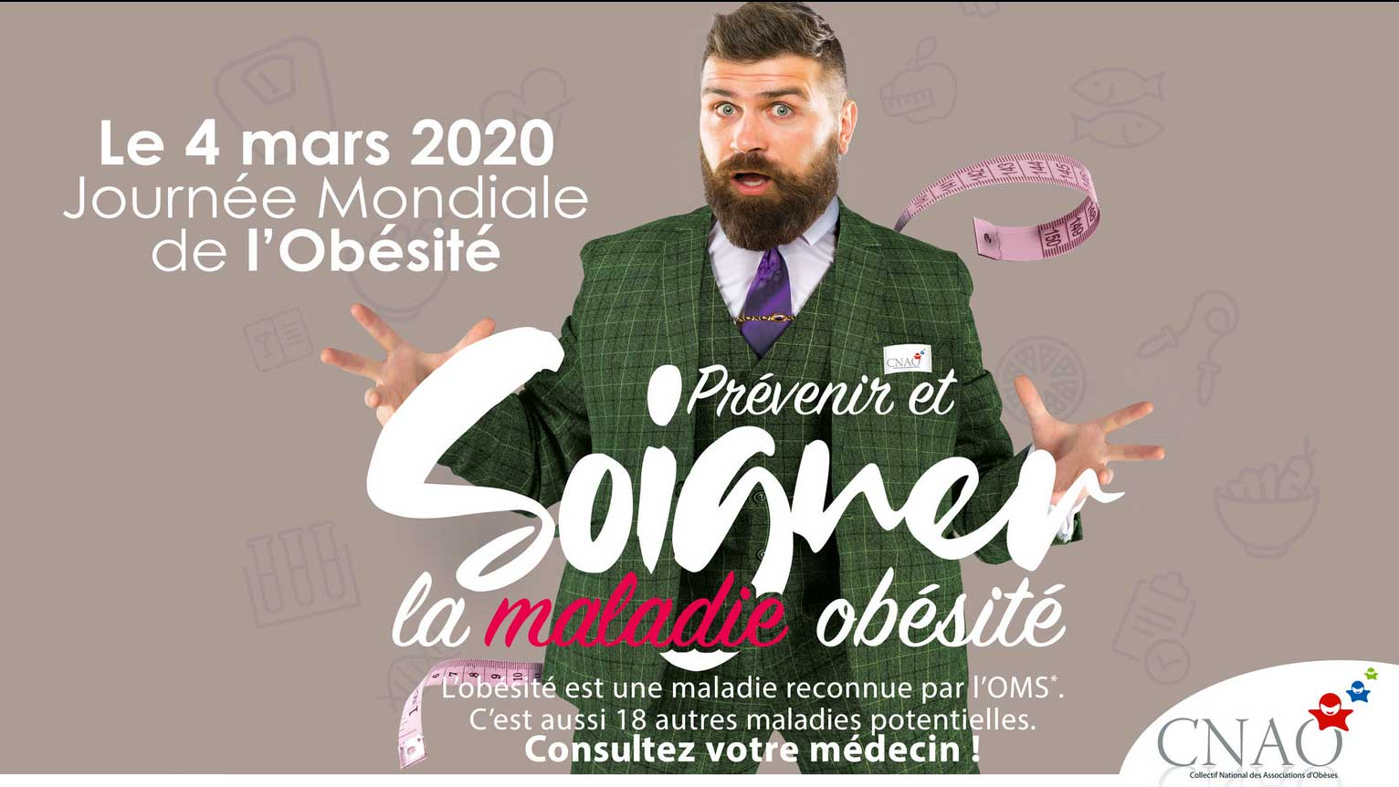 4 Mars : Journée Internationale de l'Obésité