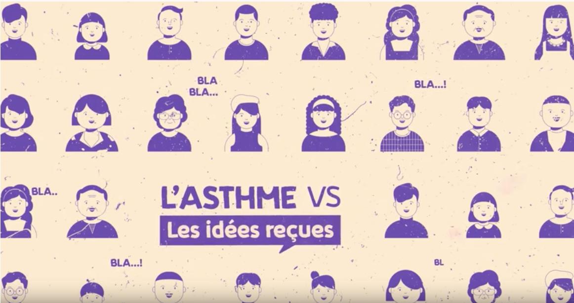 Asthme : des vidéos pour mettre fin aux idées reçues
